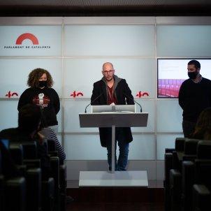 EuropaPress 3424591 acusados protestas aniversario 1 o adrian sas interviene rueda prensa jxcat