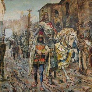Jaume I entra a València. 9 d'octubre de 1238