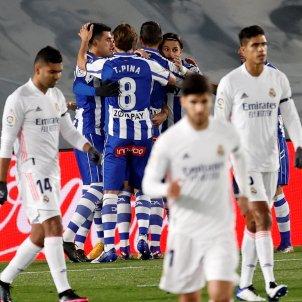 Celebracio gol Alabes Reial Madrid EFE