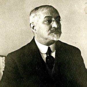 Nomenen Puig i Cadafalch president de la mancomunitat. Font. Museu d'Història de Catalunya