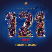 Barça 121 anys FC Barcelona
