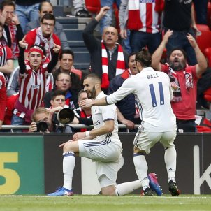 Benzema Bale Lliga Santander Athletic Club EFE