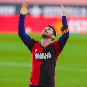 Messi homenatge Maradona Newells Barca @FCB