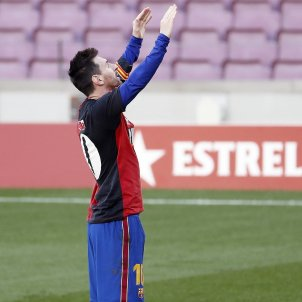 Messi Newells Maradona Barça EFE