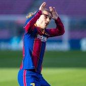 Antoine Griezmann Barca celebracio @FCB