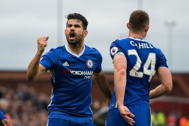 Diego Costa Cahill Chelsea EFE