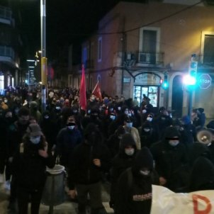 Manifestacio Vilafranca Adrián Sas 2 ACN