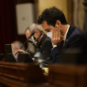 Roger Torrent Parlament   Sergi Alcàzar