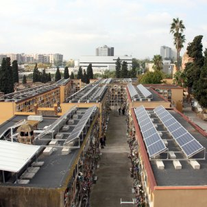 Ajuntament Cementiri Les Corts plaques solars energia renovable-acn