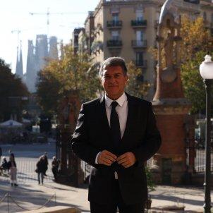 Joan Laporta Presidenciable Barça Hospital Sant Pau - Sergi Alcàzar