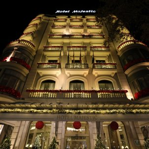 llums nadal Hotel Majestic iluminacio festes - Sergi Alcàzar