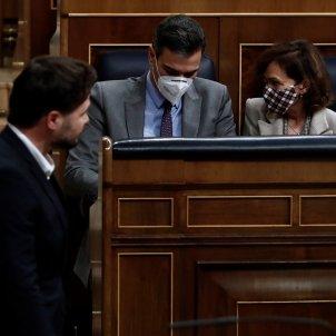 Sánchez Rufian Calvo debat pressupostos Congres EFE