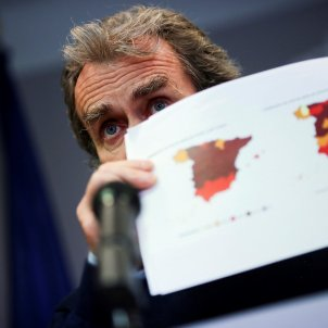 Fernando simon mapa Espanya - Efe