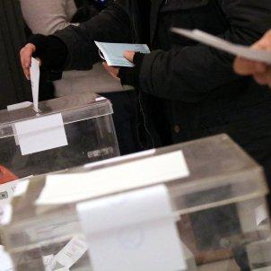 Urna eleccions Catalunya PSC -ACN