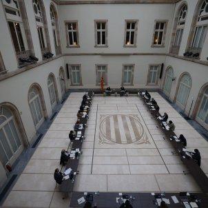 reunio taula partits eleccions 14F  7   Sergi Alcàzar