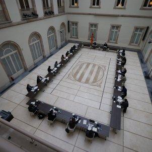 reunio taula partits eleccions 14F 6   Sergi Alcàzar