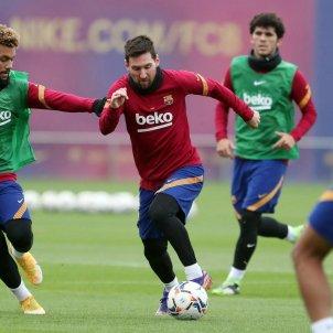 Messi entrenament FCB