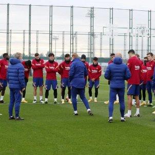 Koeman entrenament FCB