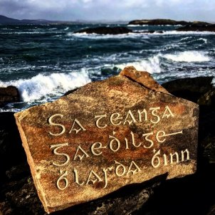 pedra gaèlic irlandès - @NoahRoseArtist
