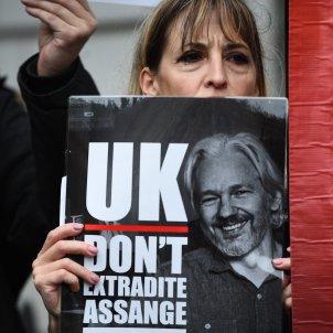 poster llibertat julian assange - Kirsty O'connor / PA Wire / Dpa