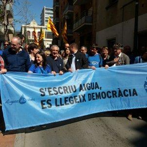 MANIFESTACIÓ AIGUA TERRASSA   En Comú Podem Twitter