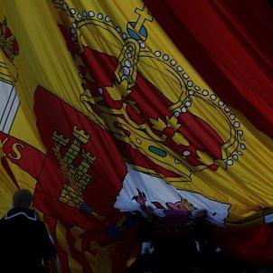 izado bandera Madrid / EFE