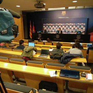 Roda de premsa Luis Enrique Barça Aleix Torres