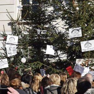 Manifestació pels atemptats de Charlie Hebdo del gener del 2015 a Chambéry / Florian Pépellin