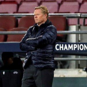 Ronald Koeman Barca trist Juventus EFE