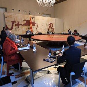 Reunió govern consell executiu Jordi Bedmar