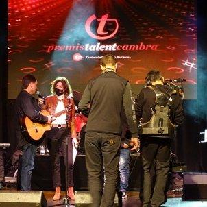 gravació dels Premis Talent Cambra amb Helena Garcia Melero opt