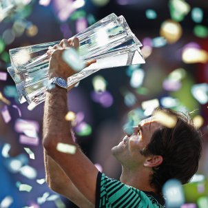 Roger Federer Indian Wells EFE