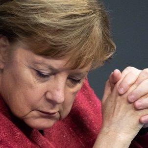 Angela Merkel Bundestag EFE