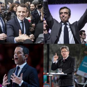 candidats a les franceses / EFE