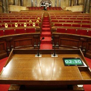 Parlament hemicicle buit - Sergi Alcàzar