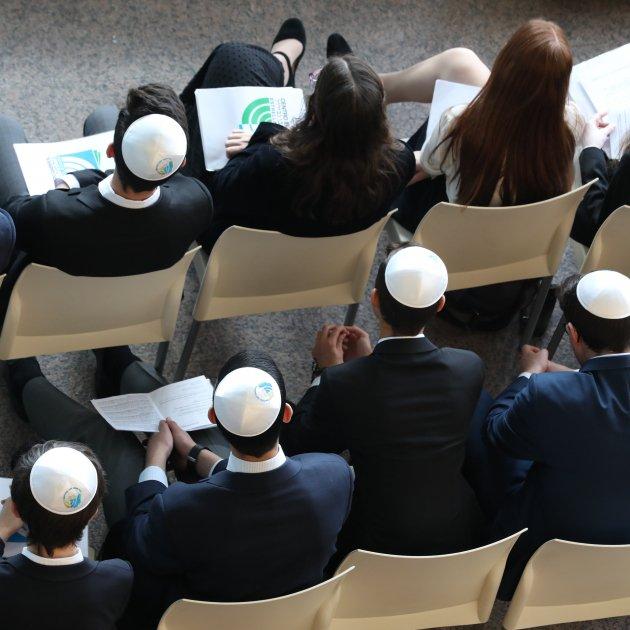 jovenes judíos escuela Ibn Gabriol, Madrid /Europa Press
