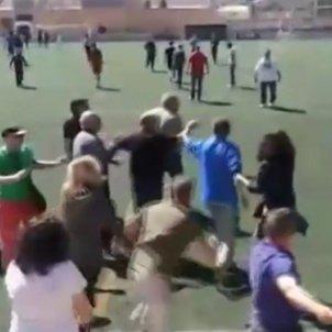 batalla campal futbol mallorca
