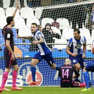 Barça Deportivo gol córner EFE