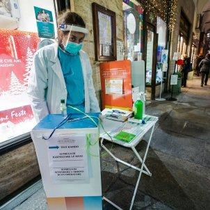 test coronavirus italia efe