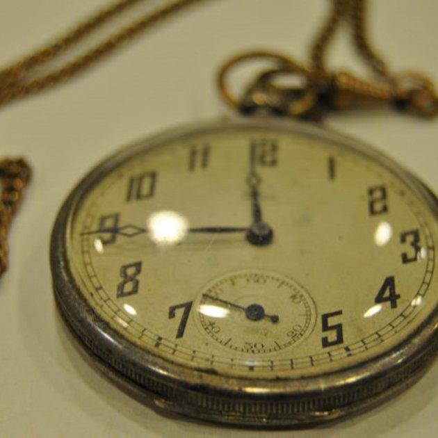 Pla obert del rellotge reloj que los nazis decomisaron al exalcalde de Sils Guerra Civil / Departament de Justícia ACN