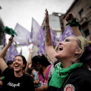 Manifestación ley aborto argentina - Efe