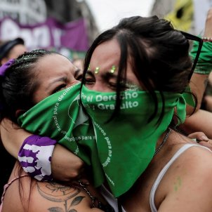 manifestación argentina ley aborto - Efe