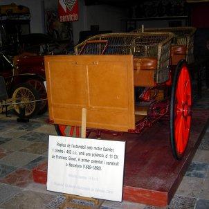cotxe Bonet 1889 - Paco Rivière