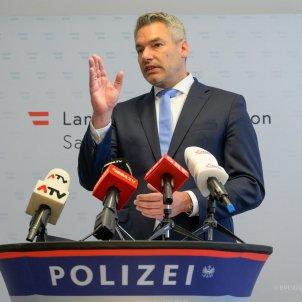 Karl Nehammer Ministre d'Interior @karlnehammer
