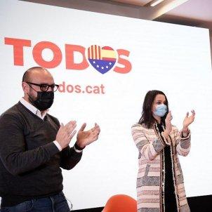 Jordi Canyas, Inés Arrimadas i Carlos Carrizosa @carrizosacarlos