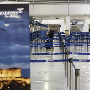 aeroport Atenes coronavirus EFE