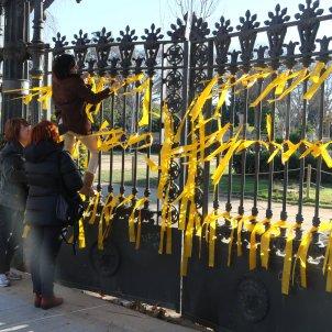 llaços grocs parc ciutadella 2018 ACN