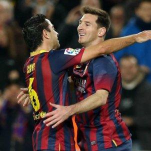 Xavi Messi Barça FC Barcelona