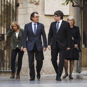 Reunio de Govern Mas Puigdemont Ortega Rigau Junqueras Munte - Sergi Alcàzar