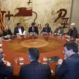 Reunio de Govern Mas Ortega Rigau - Sergi Alcàzar